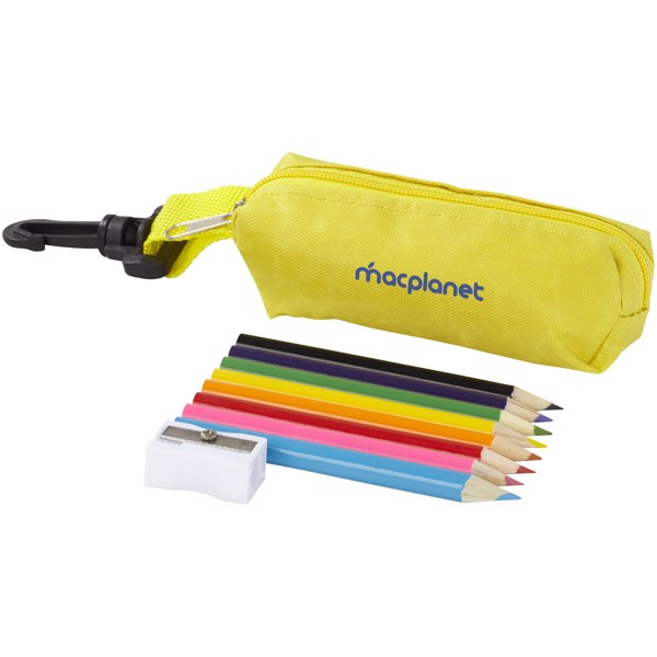 Osmidílná sada barevných tužek Jimbo - Žlutá