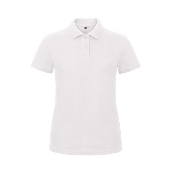 Damă Tricou polo 180 g/m2 Pique Polo Id.001 Women Pwi11 - white / XXL
