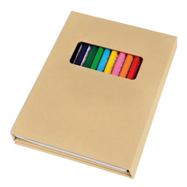 Vybarvovací Sada Colourful Book