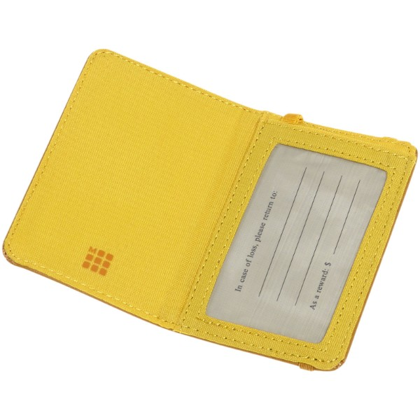 Classic luggage tag - Yellow