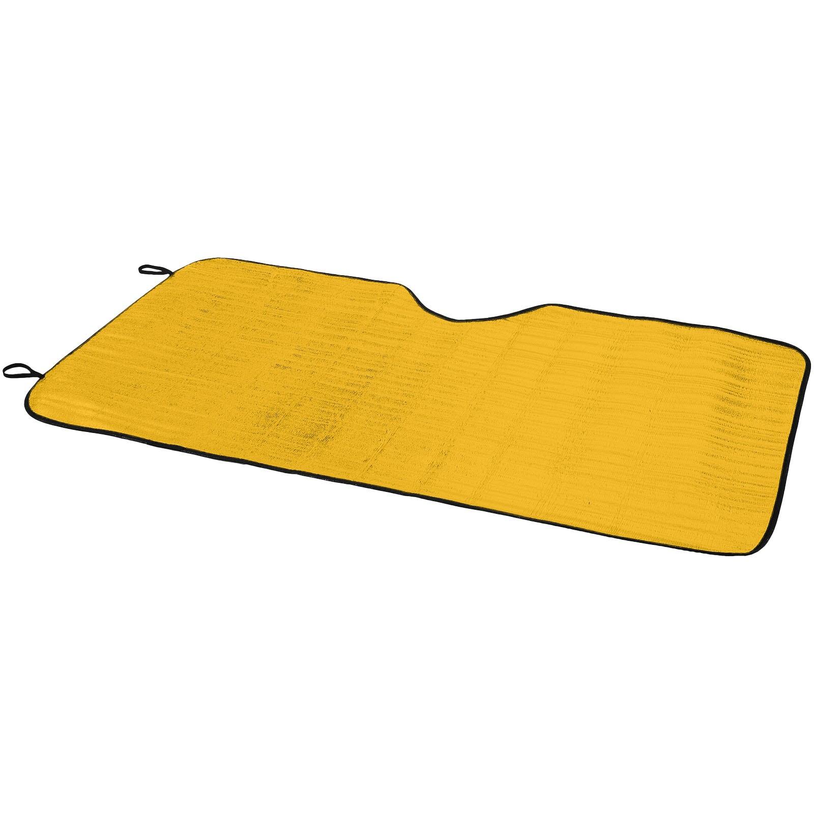 Stínítko Noson na přední sklo auta - Žlutá
