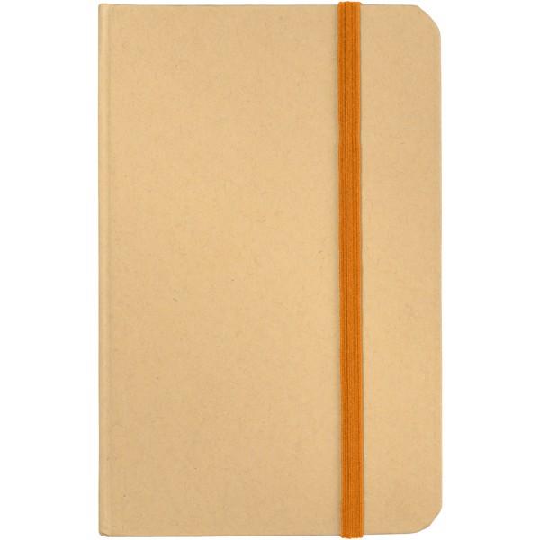 Dictum notebook - Natural / Orange