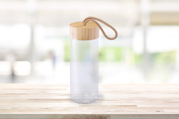 Športna steklenička Burdis – prozorna