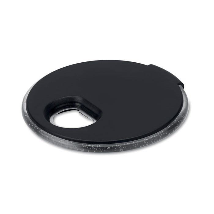 Light up coaster with opener Coaster Light - Black