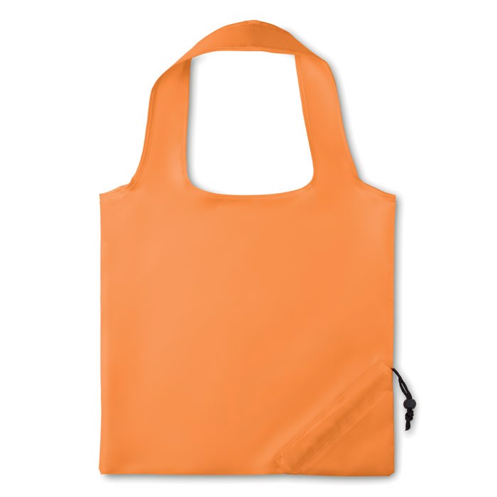 210D Foldable bag Fresa - Orange