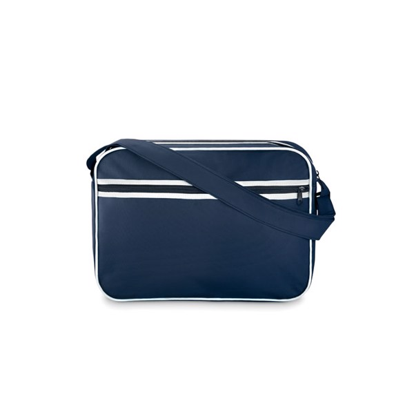 Document bag in 600D polyester Barcelona - Blue