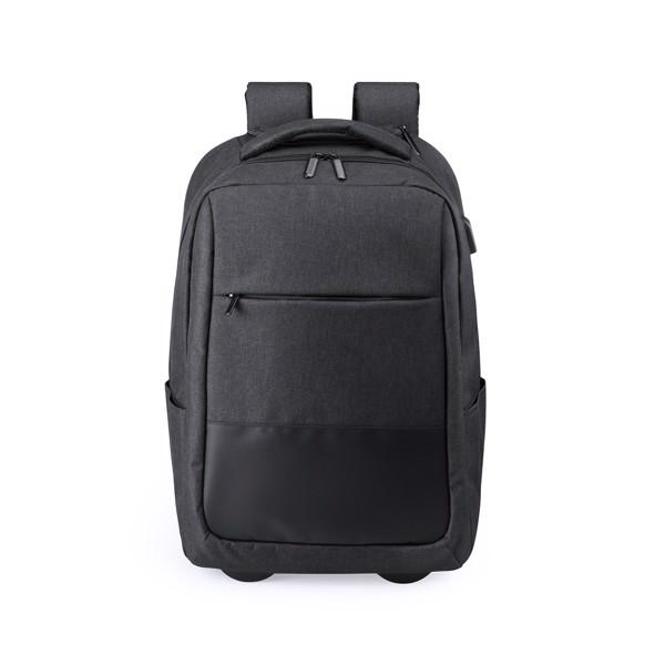Trolley Backpack Haltrix - Black