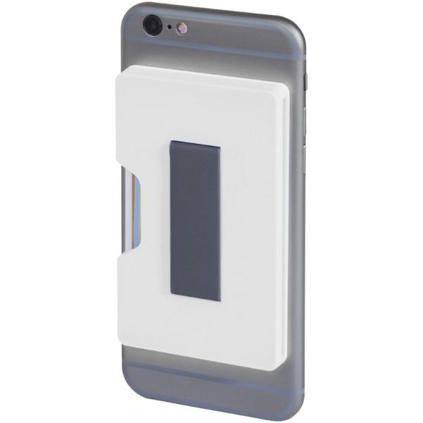Portfel Shield na karty z zabezpieczeniem RFID - Biały