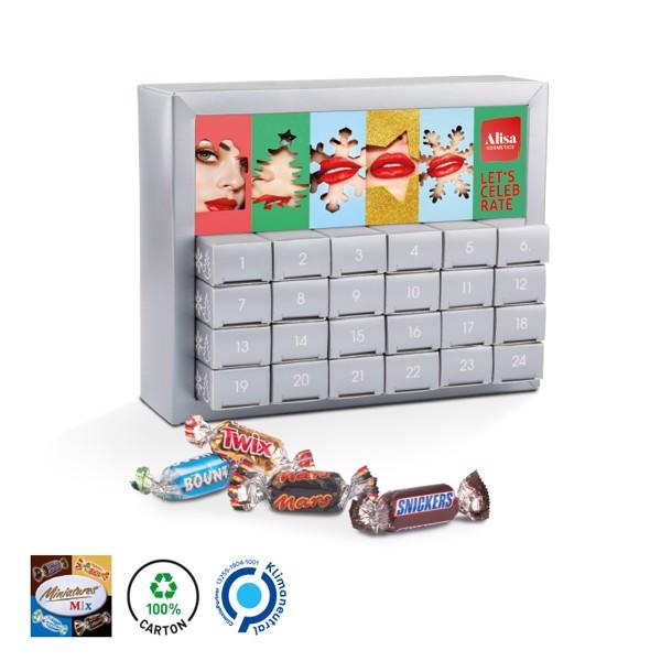 Adventní kalendář s mixem Mini bonbónů