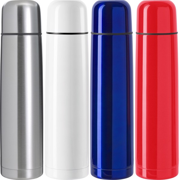 Stainless steel double walled flask - Silver