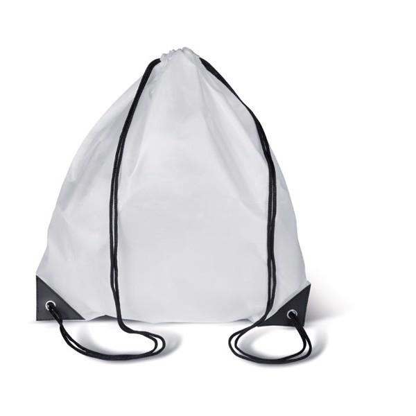 Drawstring backpack Shoop - White