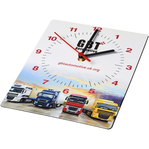 "Reloj de pared rectangular ""Brite-Clock®"""