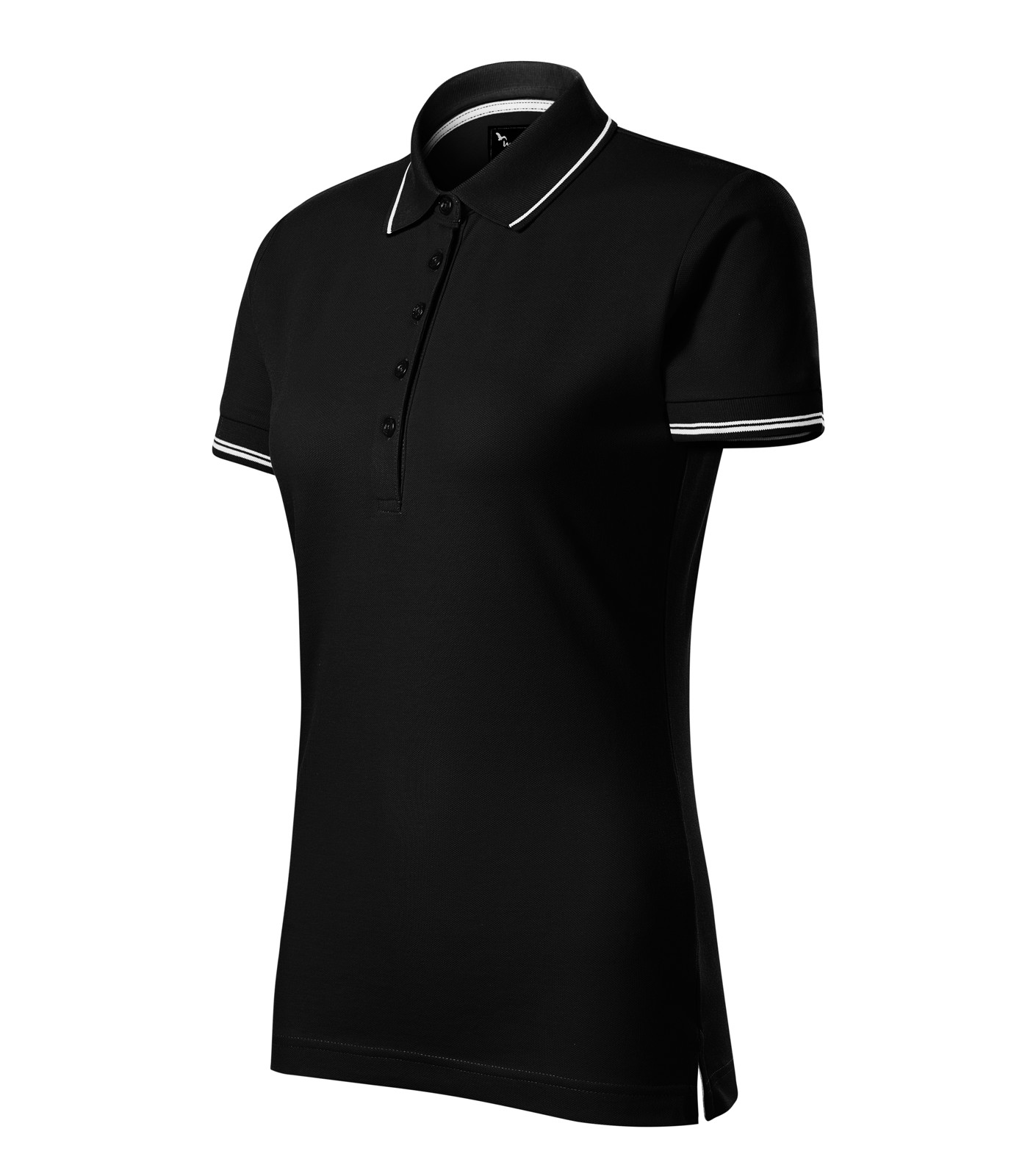 Polo Shirt women's Malfinipremium Perfection plain - Black / M