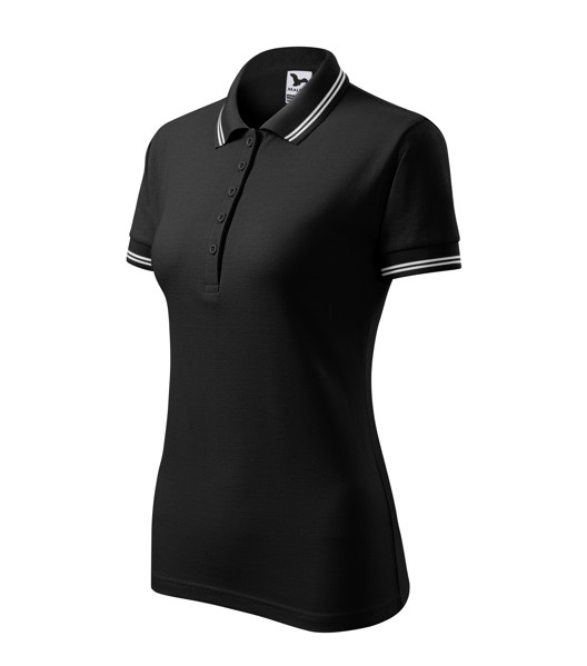 Polo Shirt women's Malfini Urban - Black / 2XL