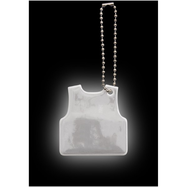 Reflective hanger vest - White
