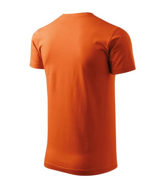 Tričko unisex Malfini Heavy New - Oranžová / XS