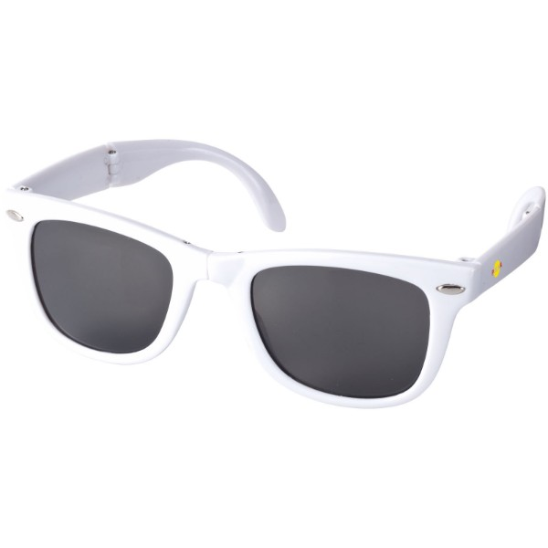 Sun Ray foldable sunglasses - White
