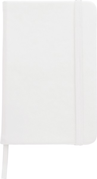 Notizbuch 'Color-Line' A5 aus PU - White