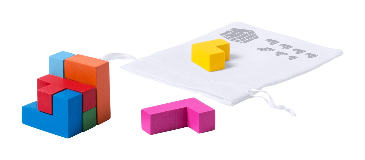 Puzzle Jetex - Vícebarevná