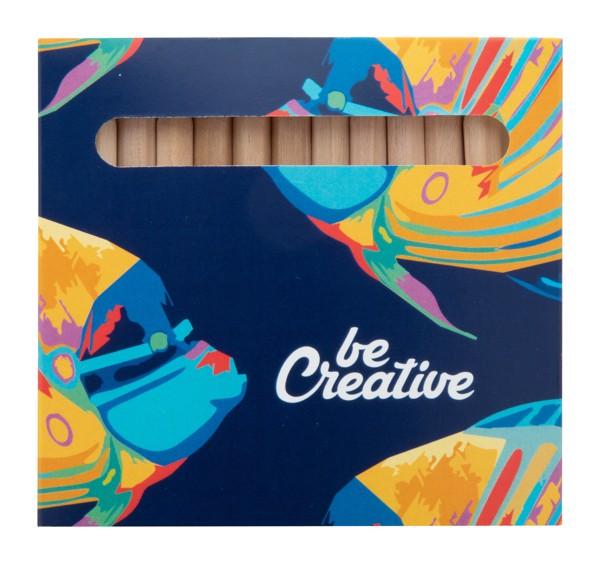 Set Creioane Colorate (12 Buc) Penxil 12 - Multicolor