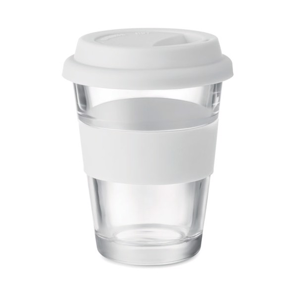 Glass tumbler 350 ml Astoglass - White