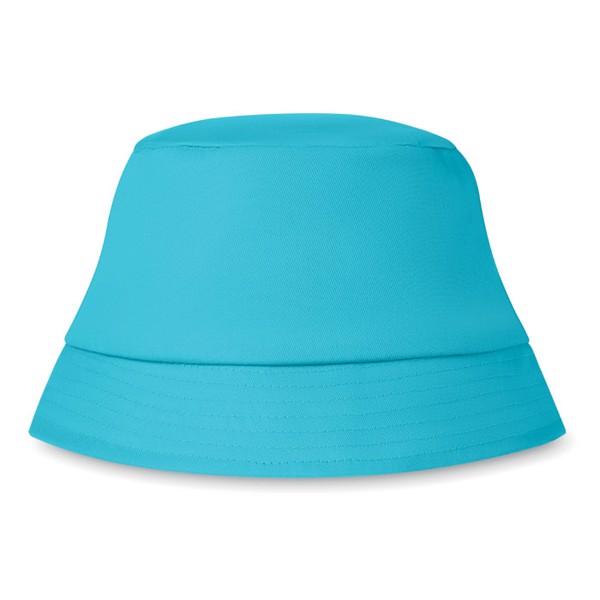 Kapelusz plażowy 160 gr/m² Bilgola - turkusowy