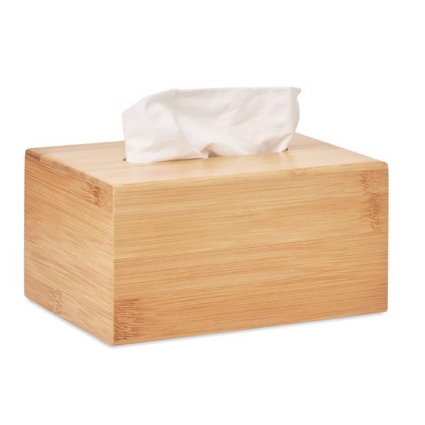 Bamboo tissue box Tissbox