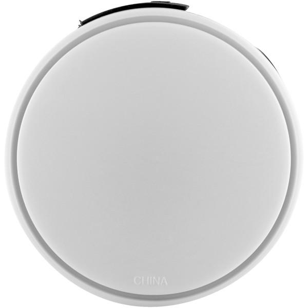 Round 4-port USB hub - White / Solid black