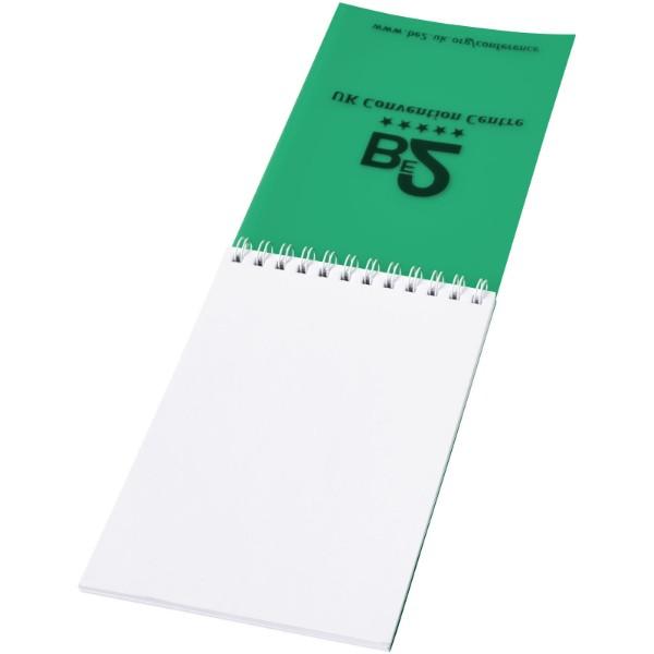 Poznámkový blok Rothko A6 - Zelená / Bílá / 50 pages