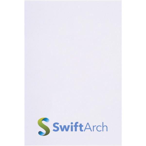 Samolepicí lístečky Sticky-Mate® 50x75mm - Bílá / 50 pages