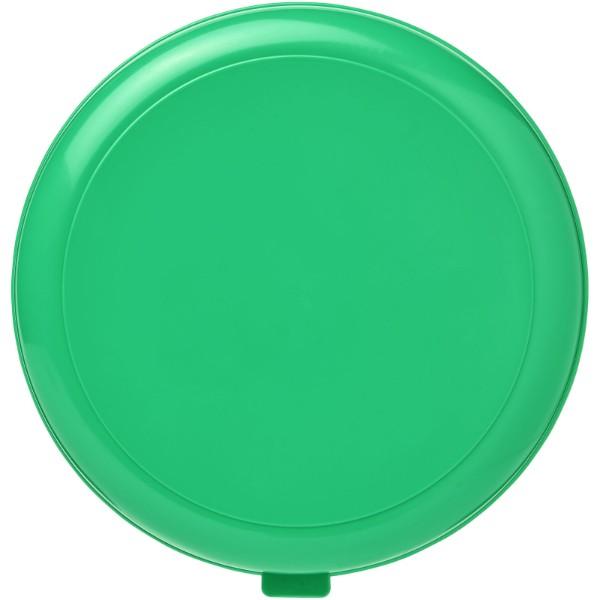 Kulatý plastový box na těstoviny Miku - Zelená