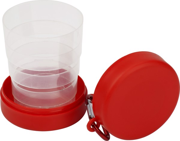 PET drinking cup - Red