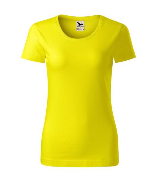 T-shirt women's Malfini Origin - Lemon / S
