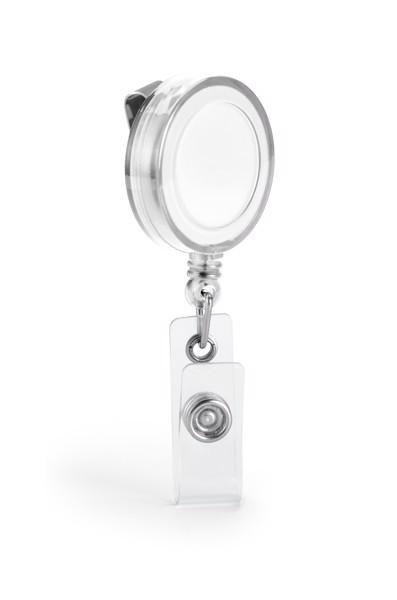 YEATS. Badge reel - White