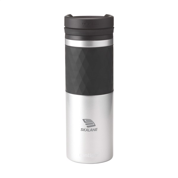 Contigo® Glaze Twistseal Mug 470 ml thermo cup - Silver