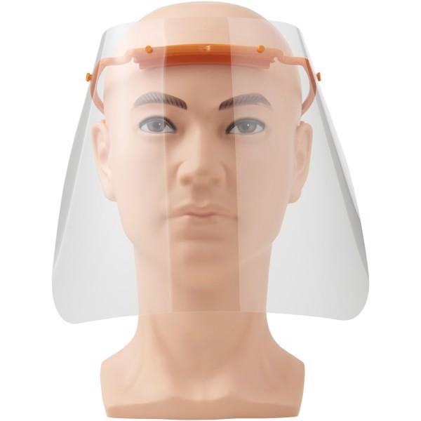 Protective face visor - Medium - Orange