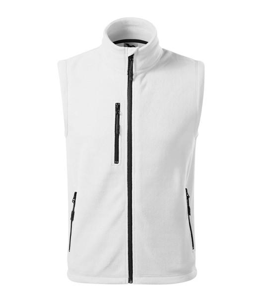 Fleece Vest unisex Malfini Exit - White / XS