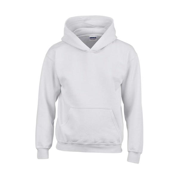 Kids Sweatshirt 255/270 g/m Blend Hooded Sweat Kids 18500B - White / XS