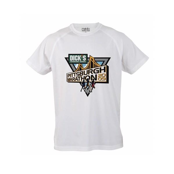 Camiseta Adulto Tecnic Plus - Blanco / M