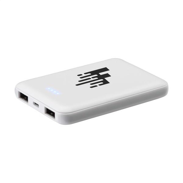 PocketPower 5000 Powerbank external charger - White