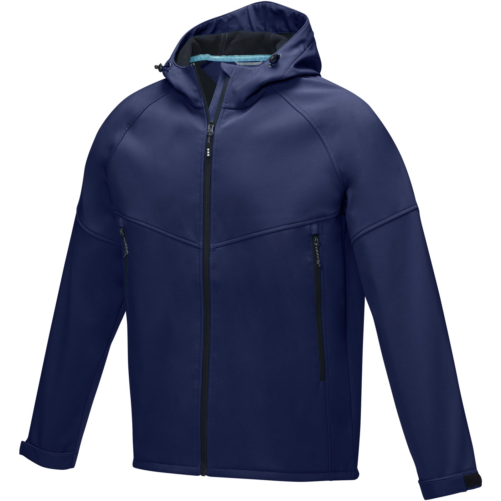 "Chaqueta softshell reciclada para hombre ""Coltan"" - Azul marino / L"