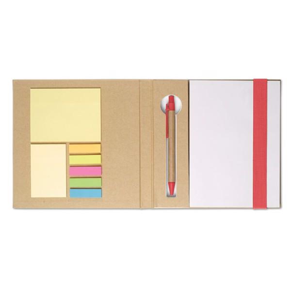 Eco Notes. Quincy - czerwony