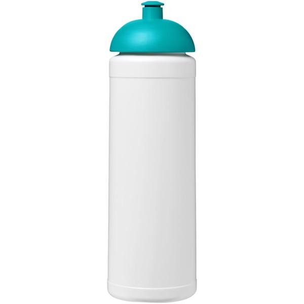Sportovní láhev s kupolovitým víčkem Baseline® Plus 750 ml - Bílá / Tyrkysová