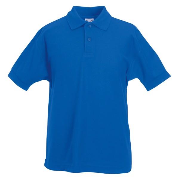 Dziecięca Koszulka polo 170 65/35 Kids Polo 63-417-0 - Niebieski / M