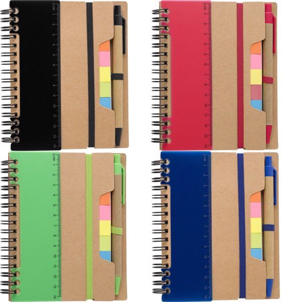 Cuaderno de papel reciclado - Blue
