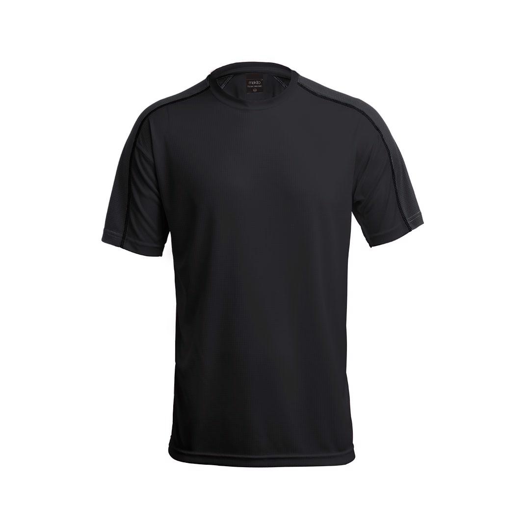T-Shirt Criança Tecnic Dinamic - Preto / 6-8