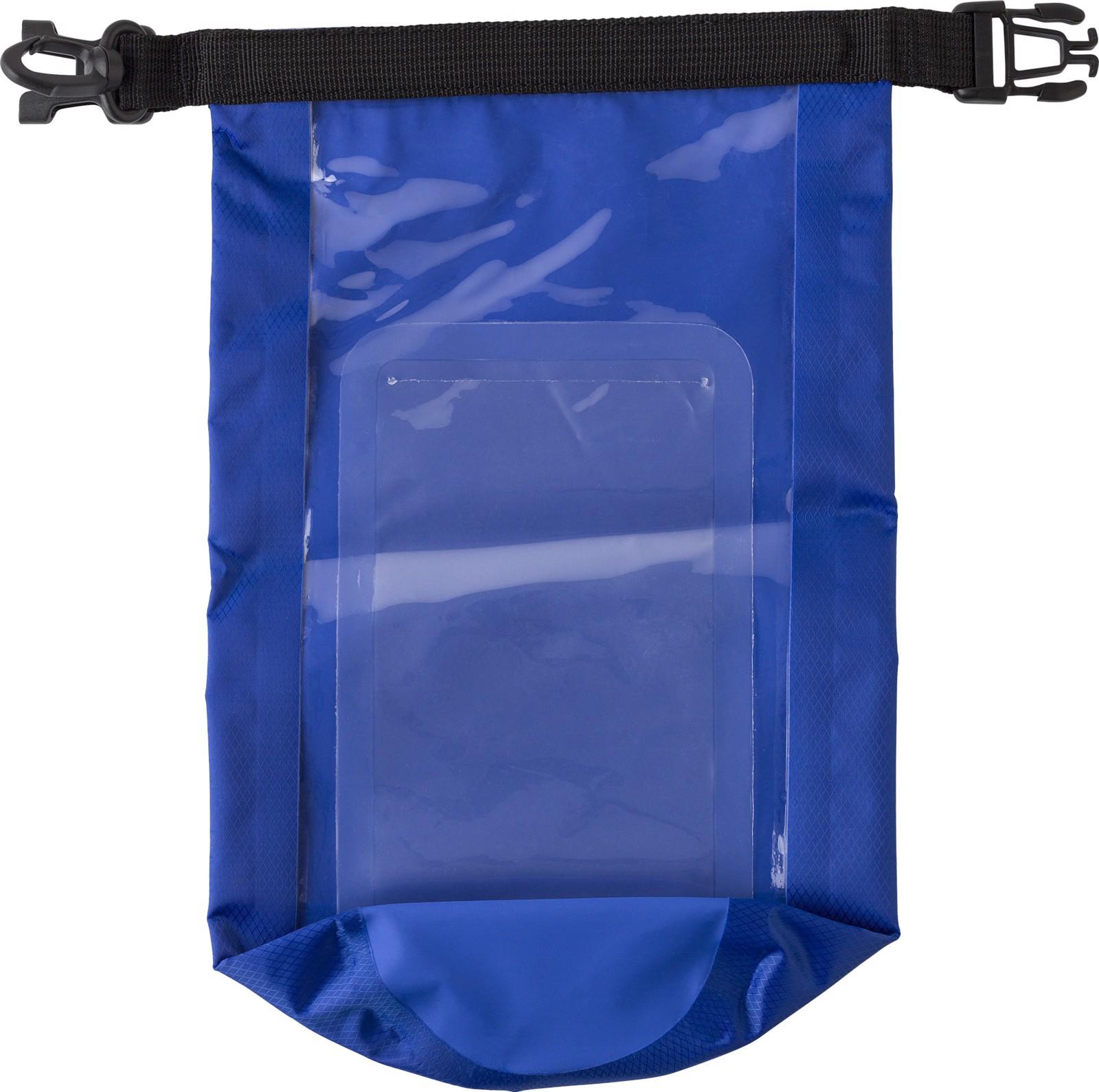 Polyester (210T) watertight bag - Cobalt Blue