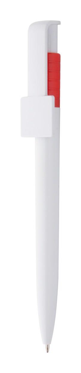 Kuličkové Pero Coder - Červená / Bílá