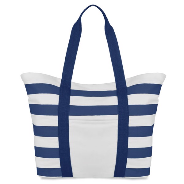 Beach bag striped Blinky Stripes