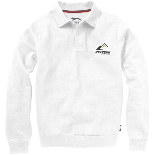 Referee polo sweater - White / S